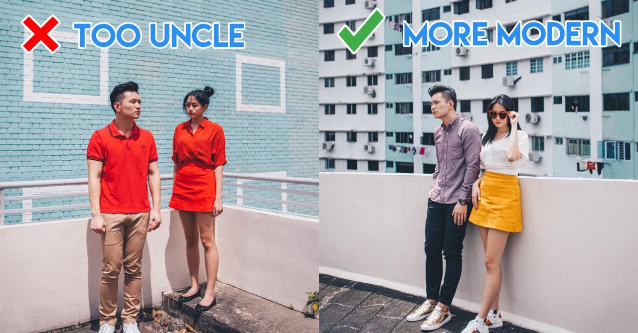 CNY Styling Tips To Not Look Like An Angbao When Visiting Relatives