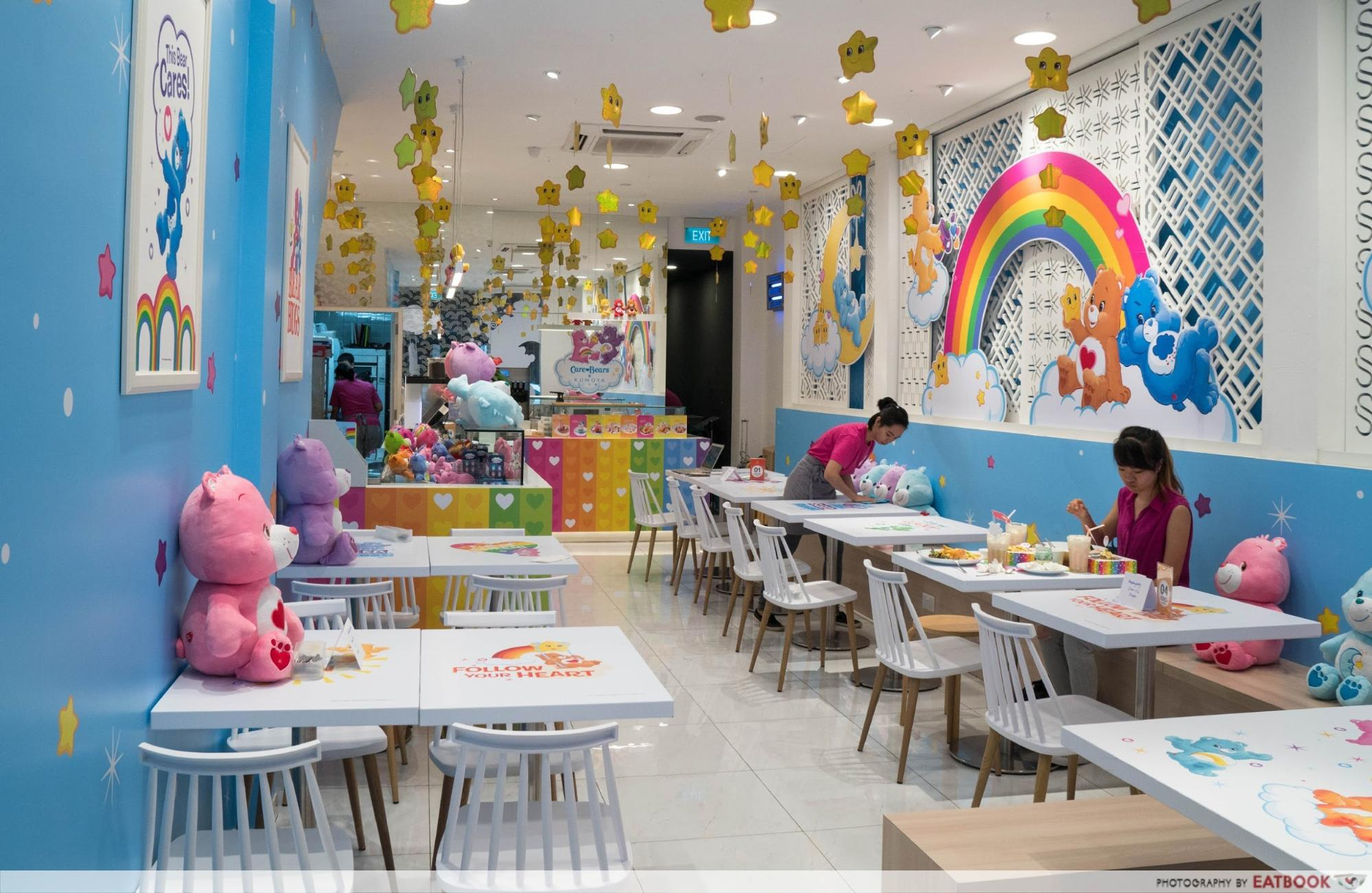 Feb 2018 cafes and restaurants (4) - Care Bears Cafe interior