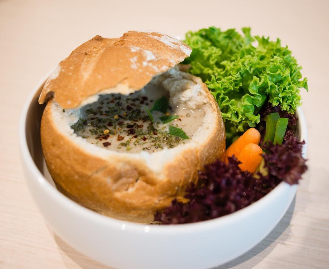 Feb 2018 cafes and restaurants (14) - Seeds Cafe Bread Bowl with Soup of the Day