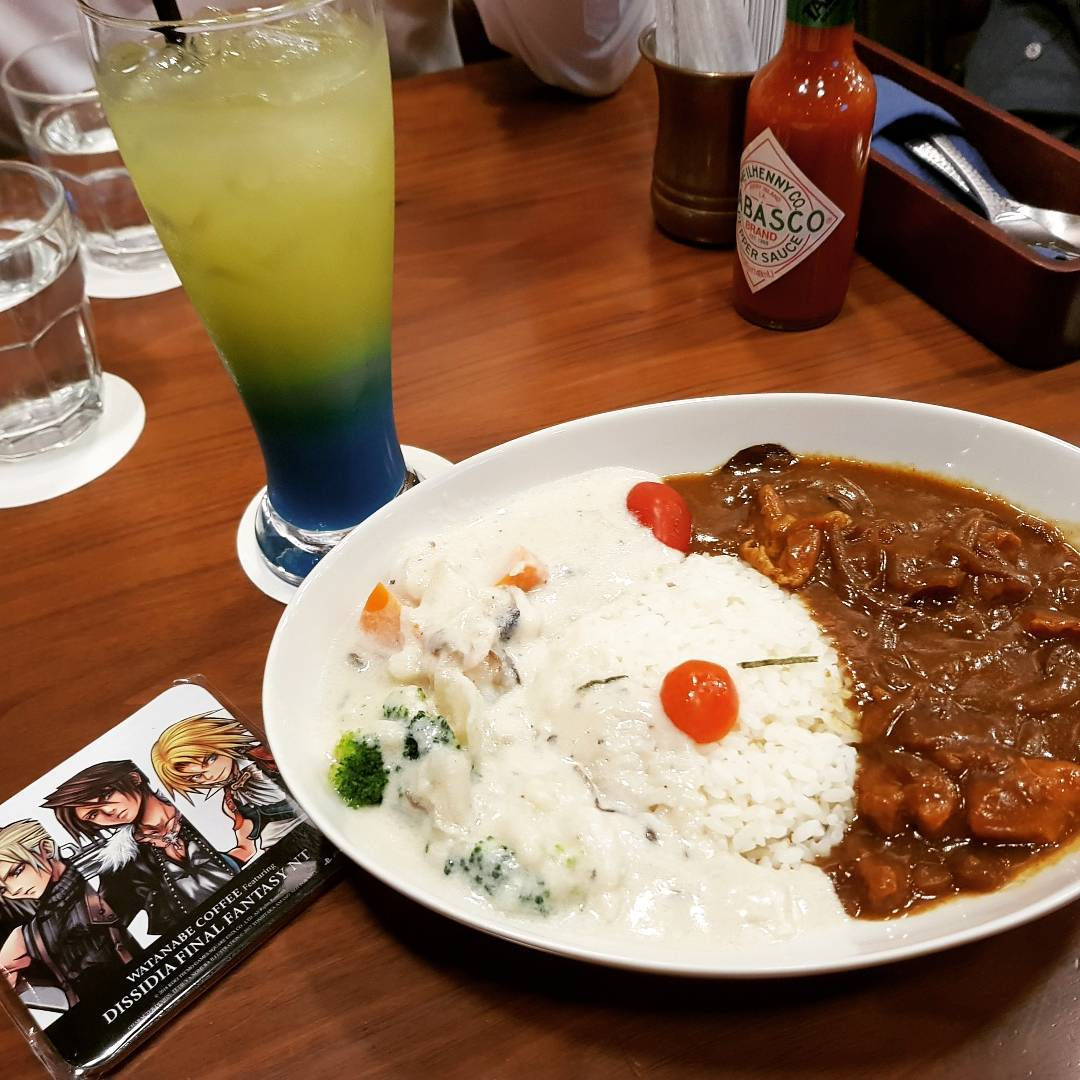 Feb 2018 cafes and restaurants (17) - Moogle curry and white stew set