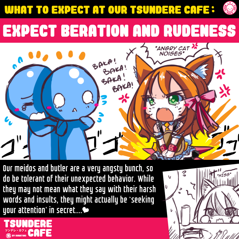 Feb 2018 cafes and restaurants (23) - Tsundere Cafe expect beration and rudeness