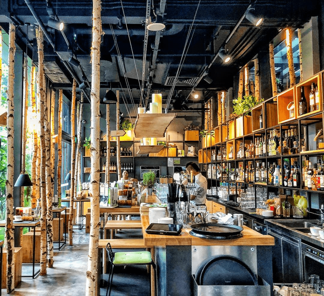 Feb 2018 cafes and restaurants (25) - Hans im Glück interior