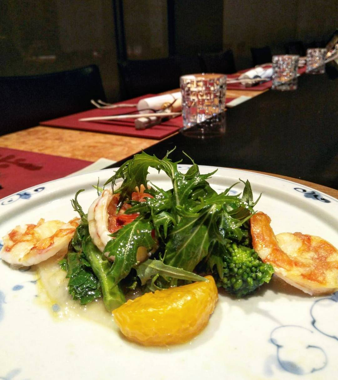 Feb 2018 cafes and restaurants (34) - Teppan by Chef Yonemura Prawn salad