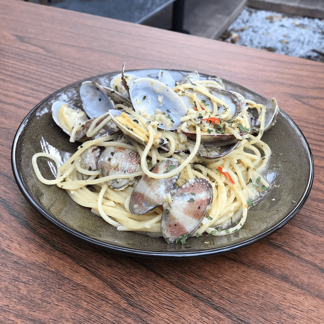 Feb 2018 cafes and restaurants (8) - Five &2 Aglio Olio Vongole