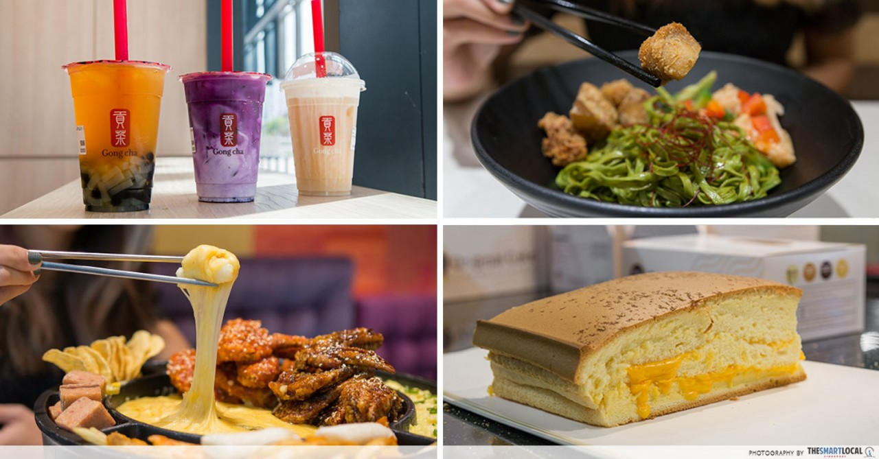 Food places at SingPost Centre