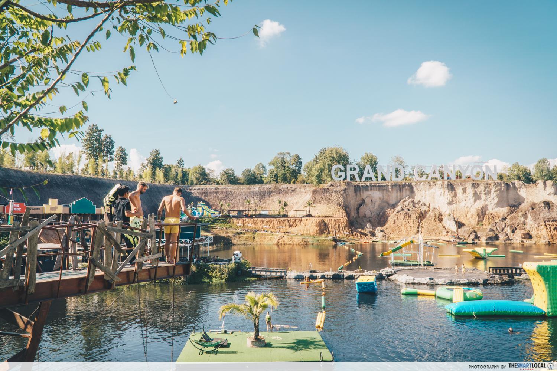Chiang Mai's Mini Grand Canyon Is Actually A Ninja Warrior Water