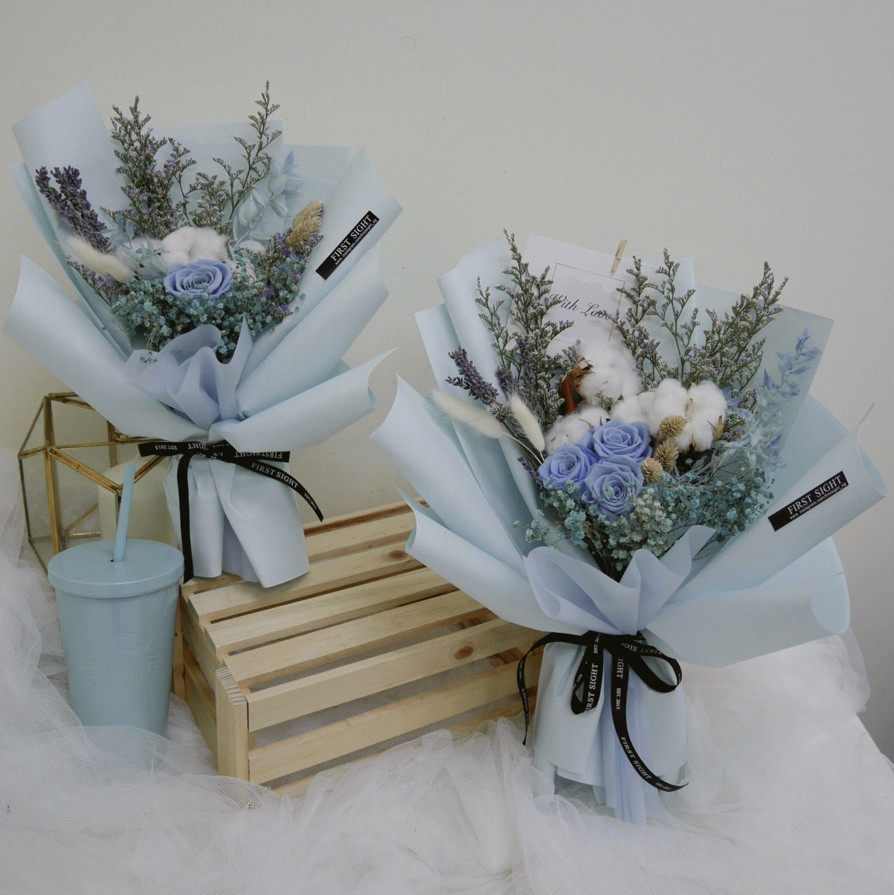 8 affordable valentines day bouquets under 50 all over singapore first sight blue bouquet izmirmasajfo