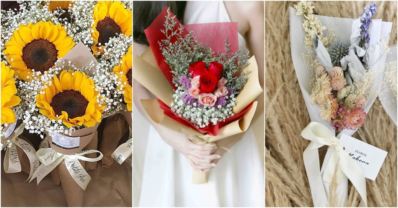 8 Affordable Valentine's Day Bouquets Under $50 All Over Singapore