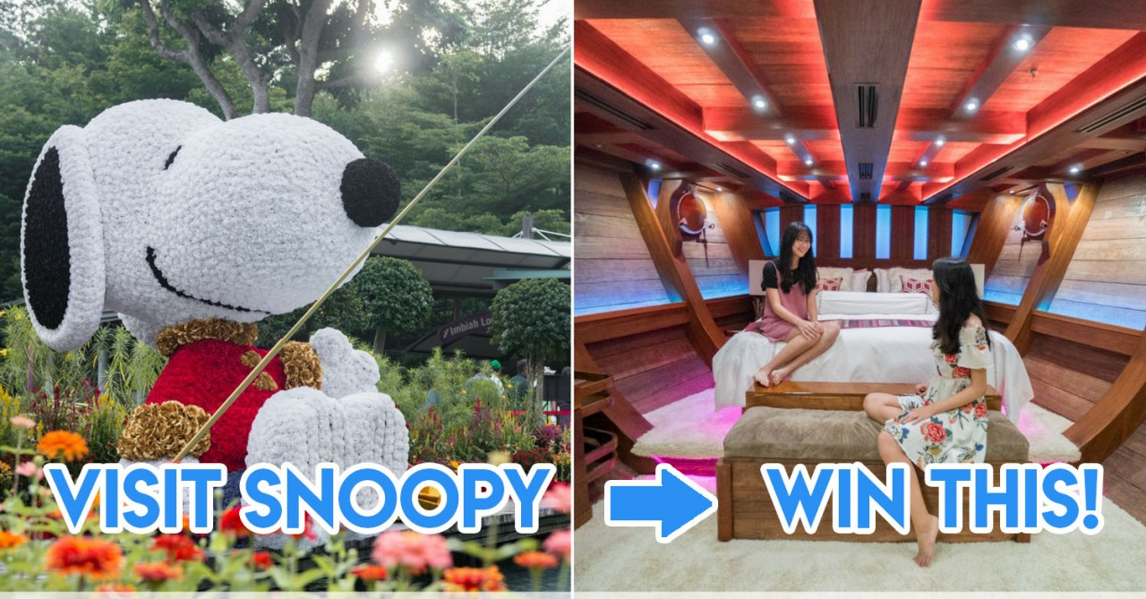 Sentosa's Snoopy-Themed CNY Is Giving Away A 2D1N Luxury Superyacht Staycation