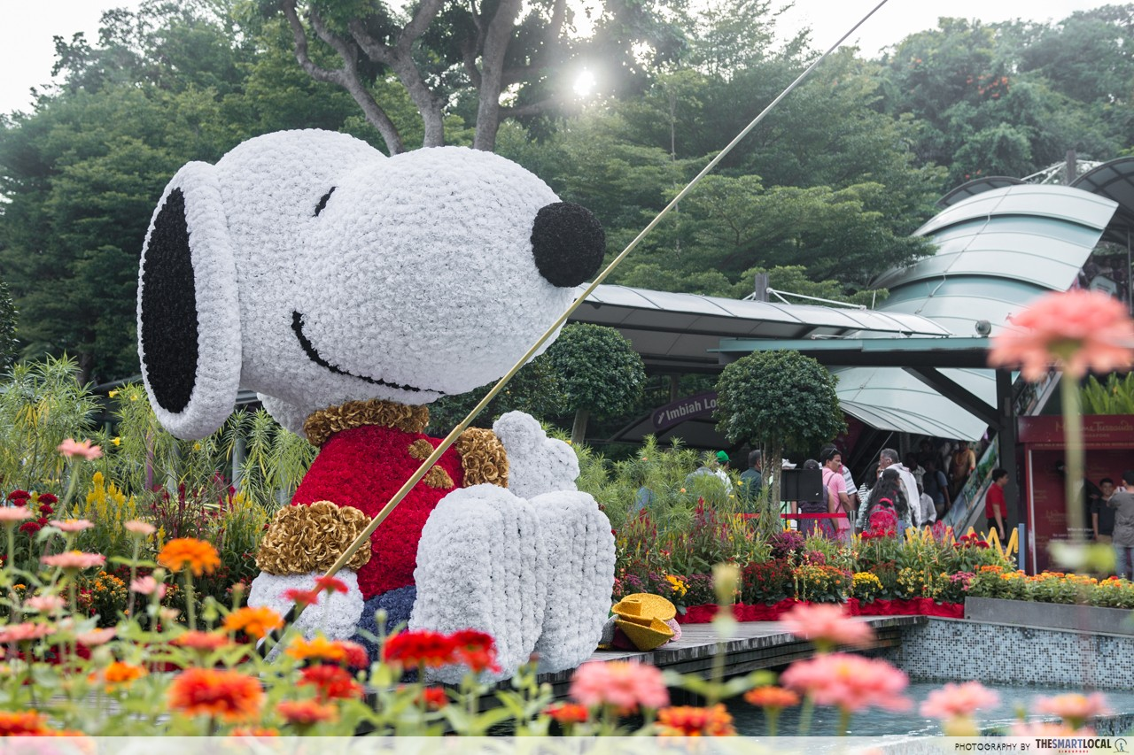 Sentosa - Snoopy sculpture