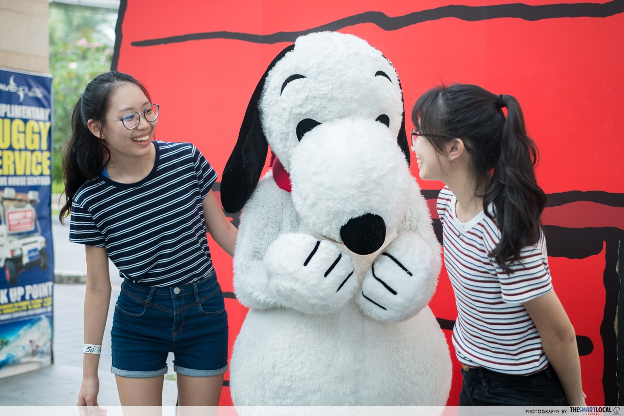 Sentosa - Snoopy Meet and Greet