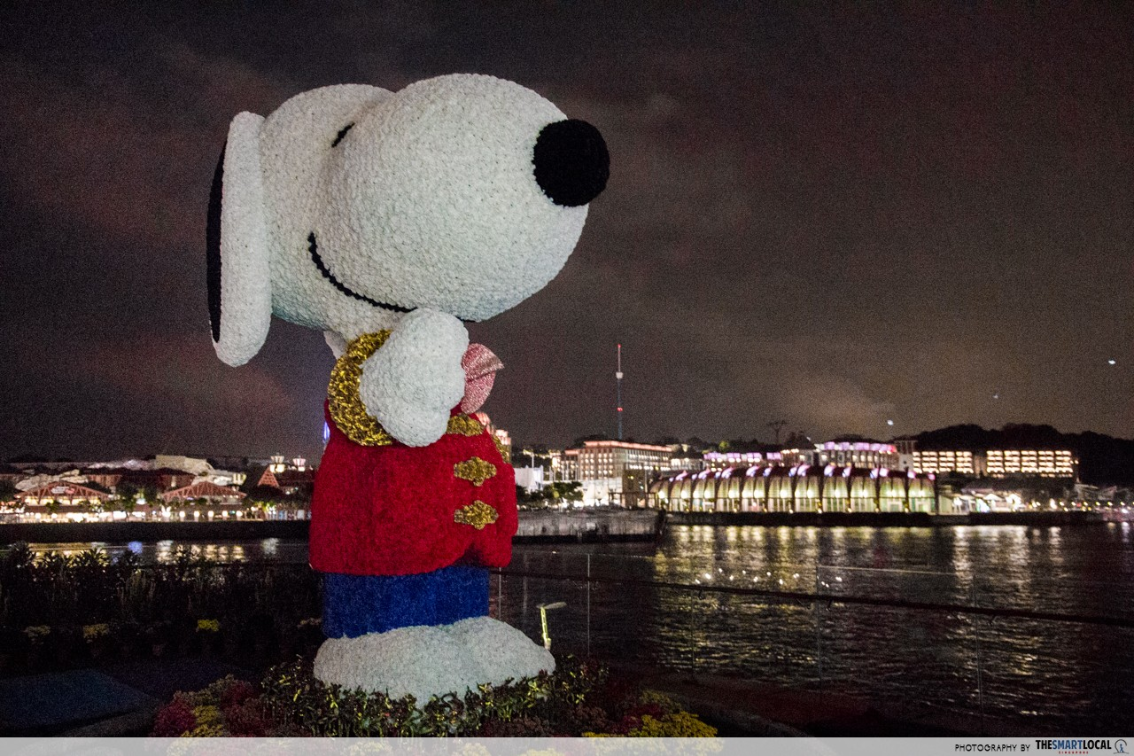 Sentosa - Snoopy at Boardwalk