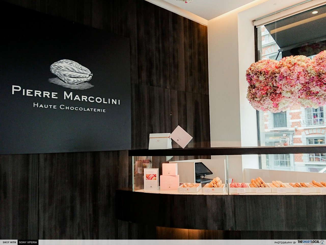 Brussels 7 things (1) - Pierre Marcolini interior