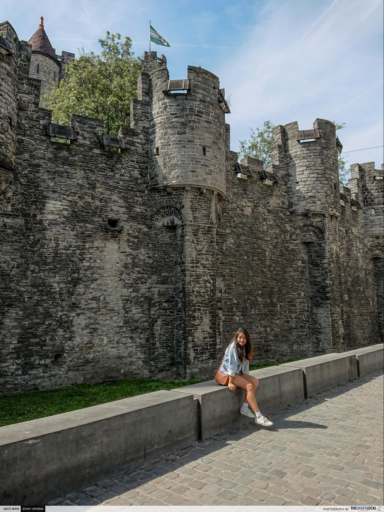 Brussels 7 things (12) - Gravensteen Castle with Xenia