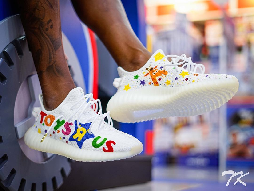 TK Customs Toys R' Us Yeezys 2