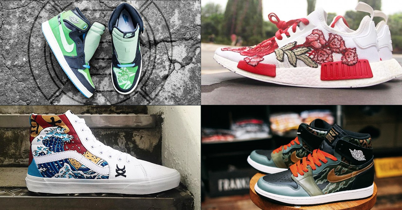 8 Sneaker Customisers In Singapore To Make Your Hypebeast Kicks Super Original