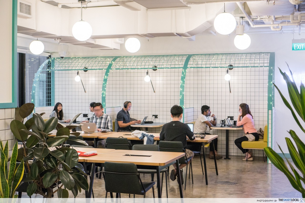 wantedly singapore office wework