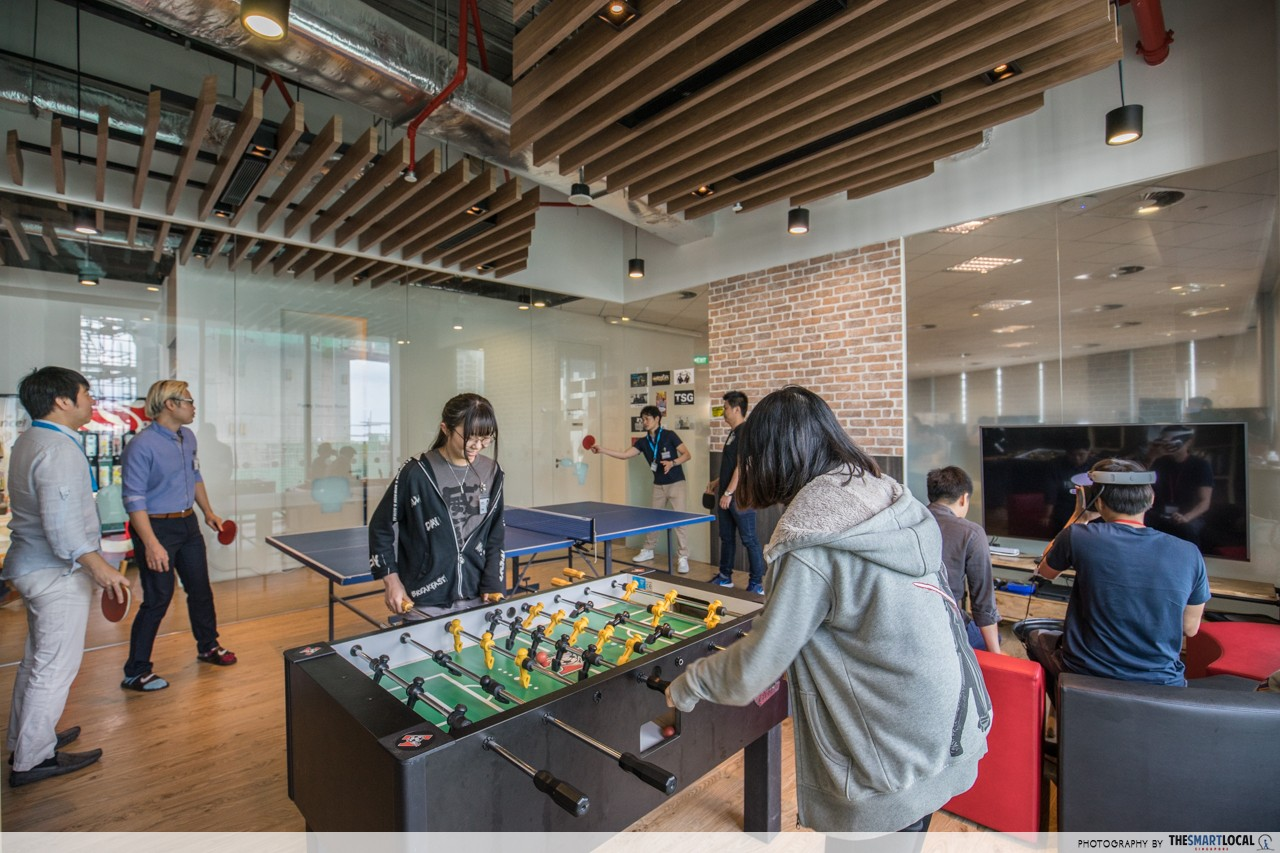 rakuten office games room foosball table tennis