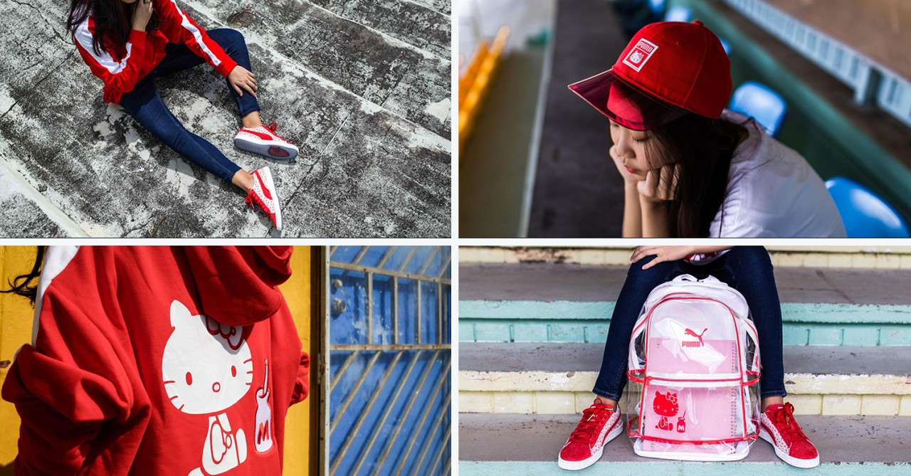 PUMA x Hello Kitty collection. PUMA - collage. PUMA s had plenty of badass  girls as ambassadors before - think Cara Delevingne and Rihanna. a4cd99f62