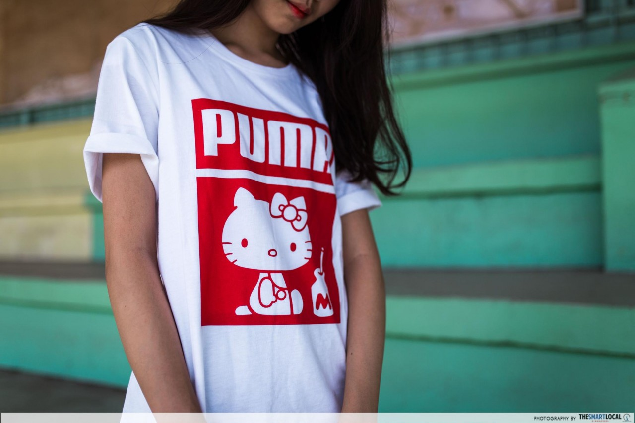 PUMA - Hello Kitty tee