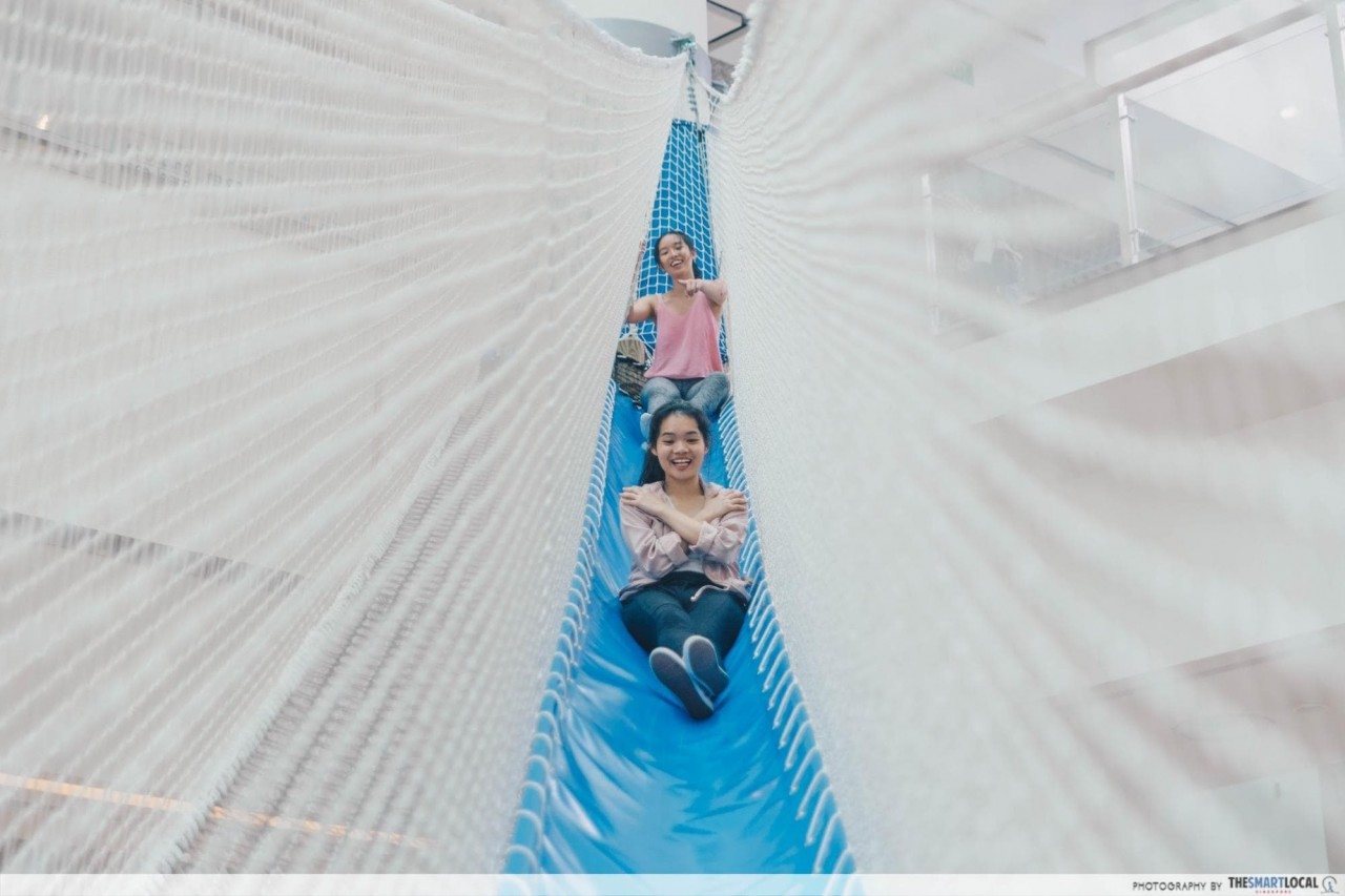 Airzone Singapore - giant slide