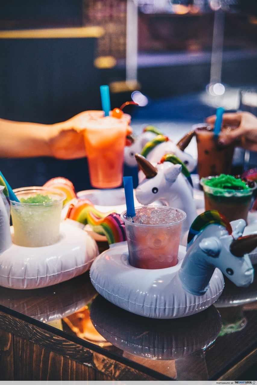 Suntec city themed club WAN - drinks