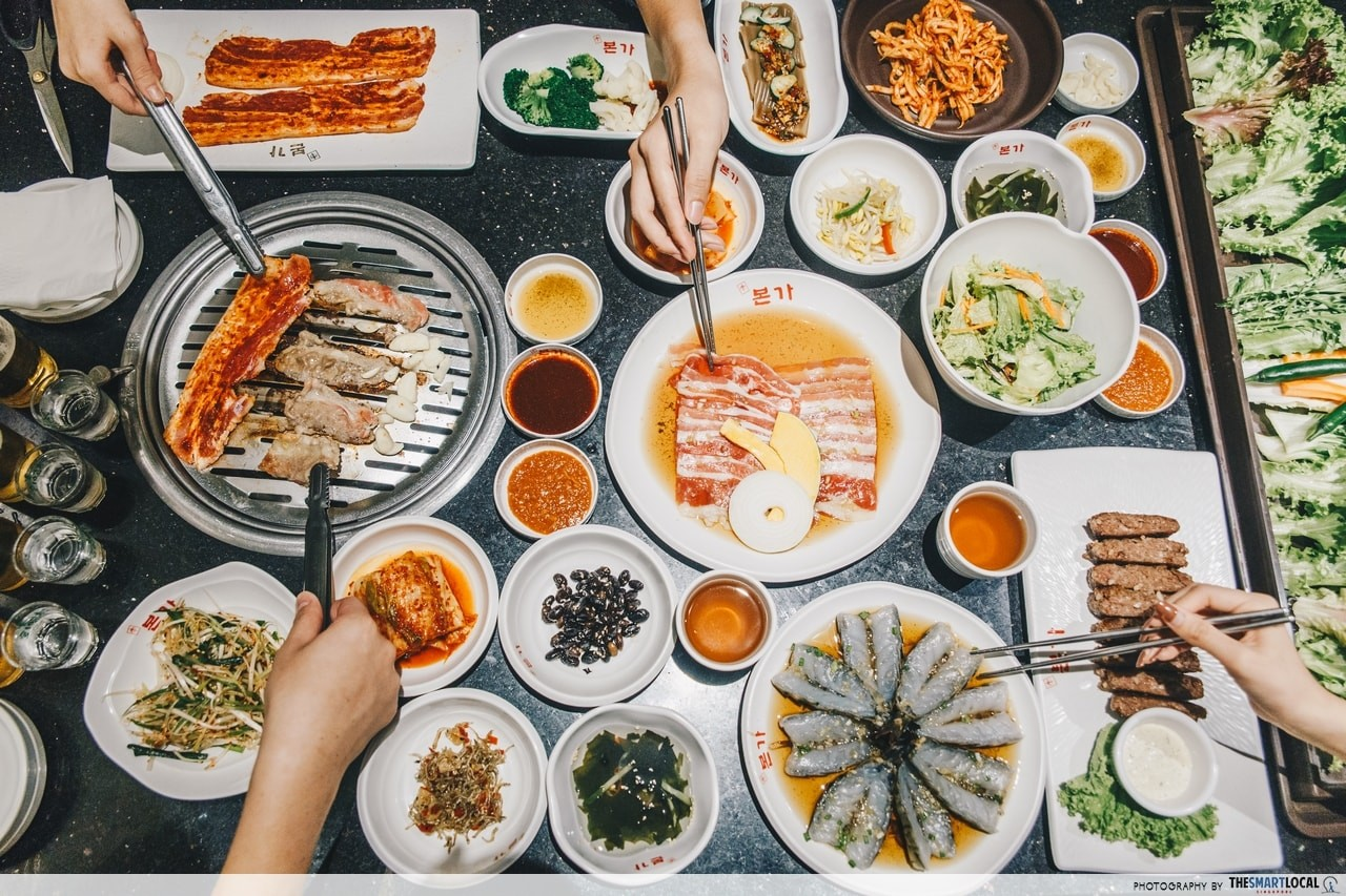Bornga suntec city - korean cuisine