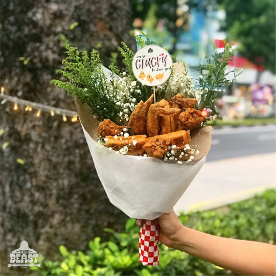 fried chicken bouquet