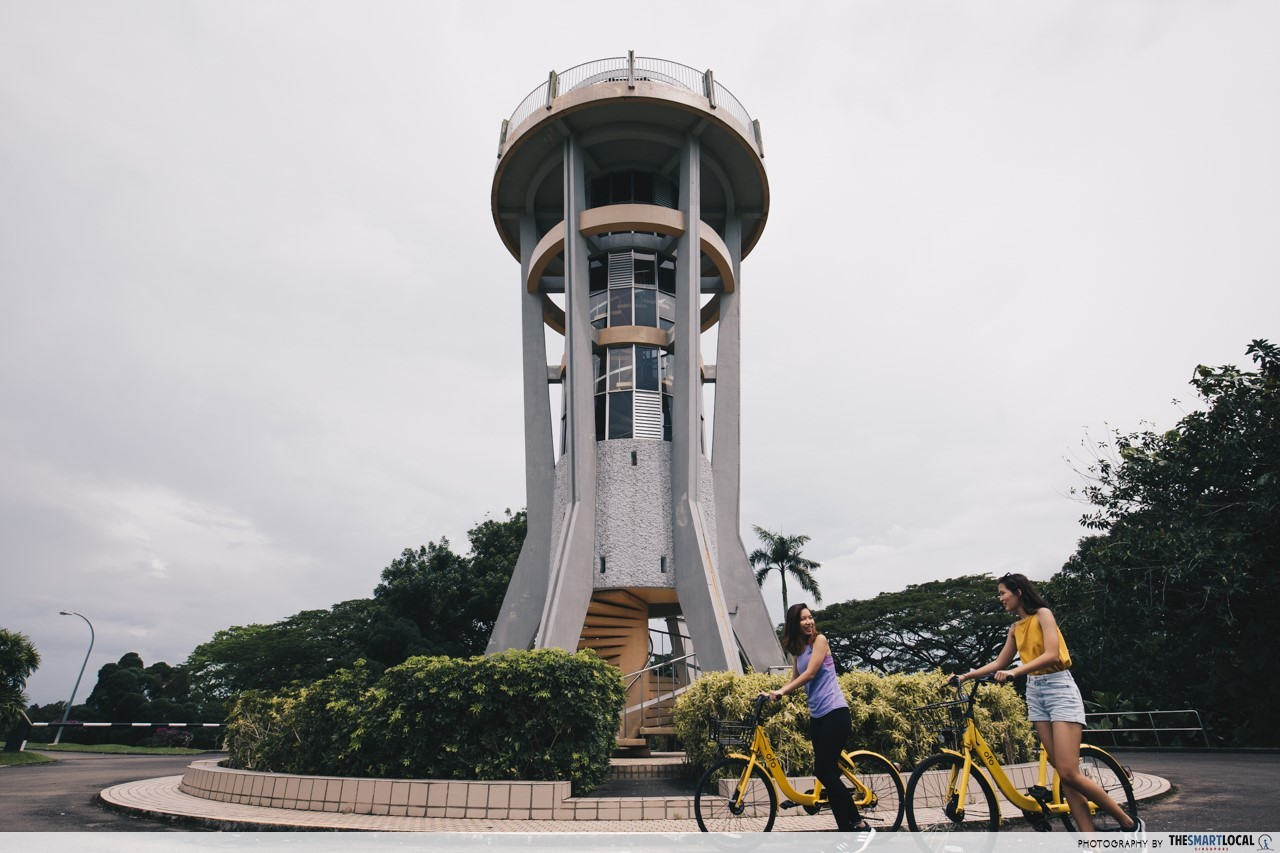 seletar rocket tower at upper seletar reservoir