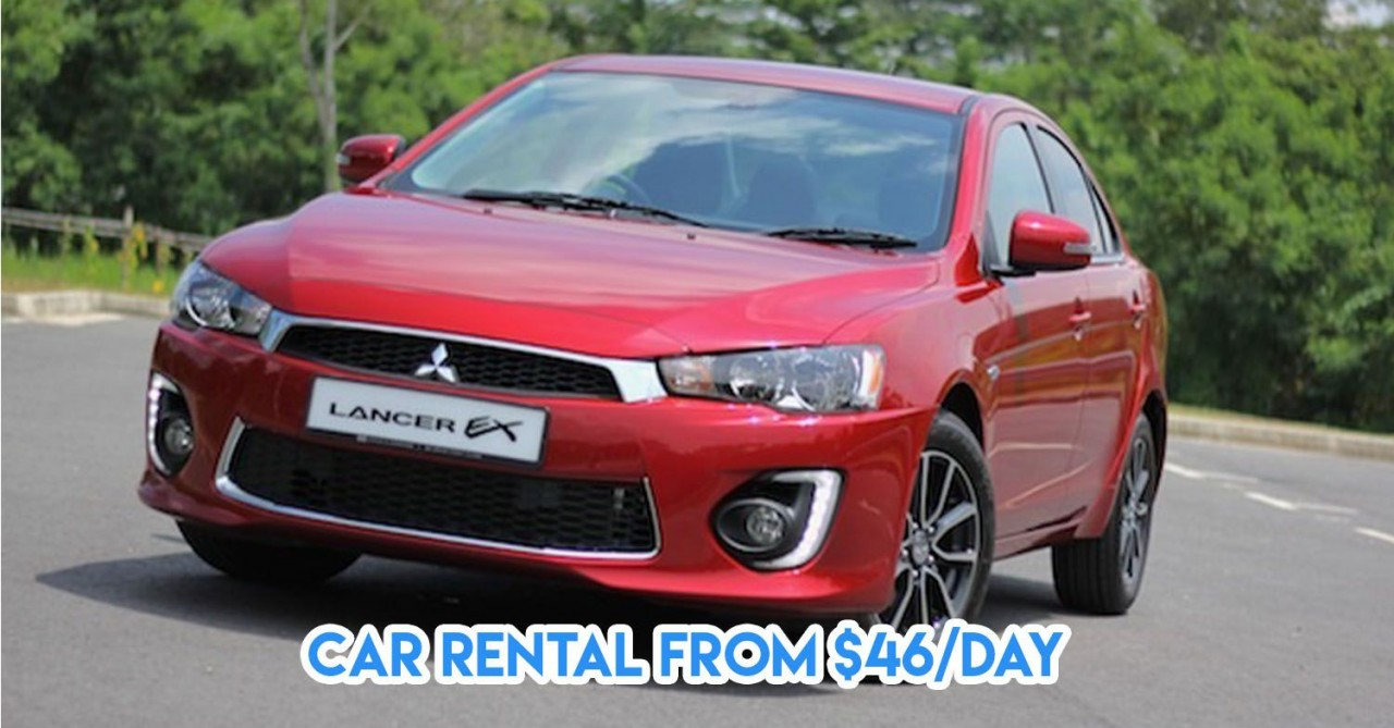 7 Most Affordable Car Rentals In Singapore Under $75 For CNY Visiting