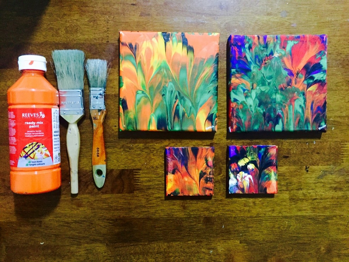 acrylic paintings as gifts