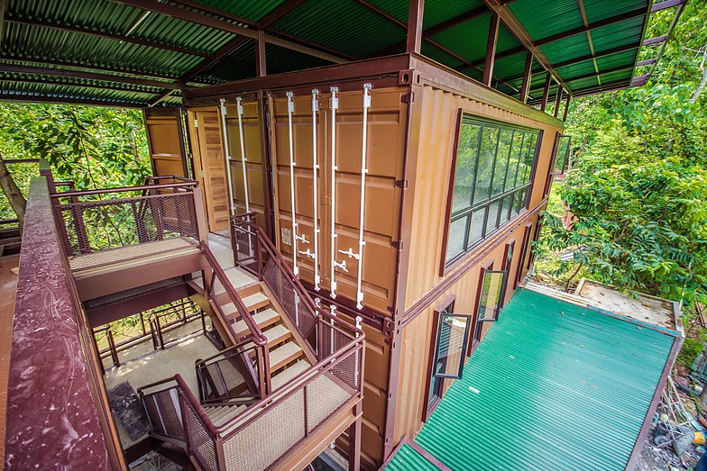 Templer Park Rainforest Retreat container hotel
