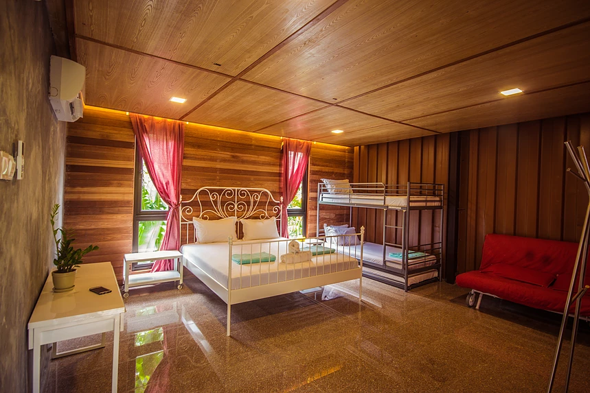 Templer Park Rainforest Retreat Villa bedroom