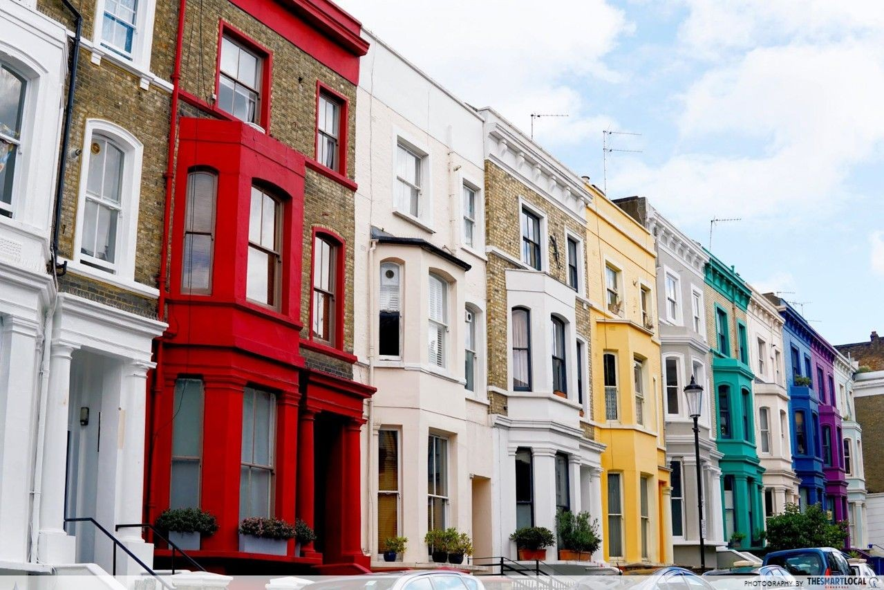 rainbow houses london