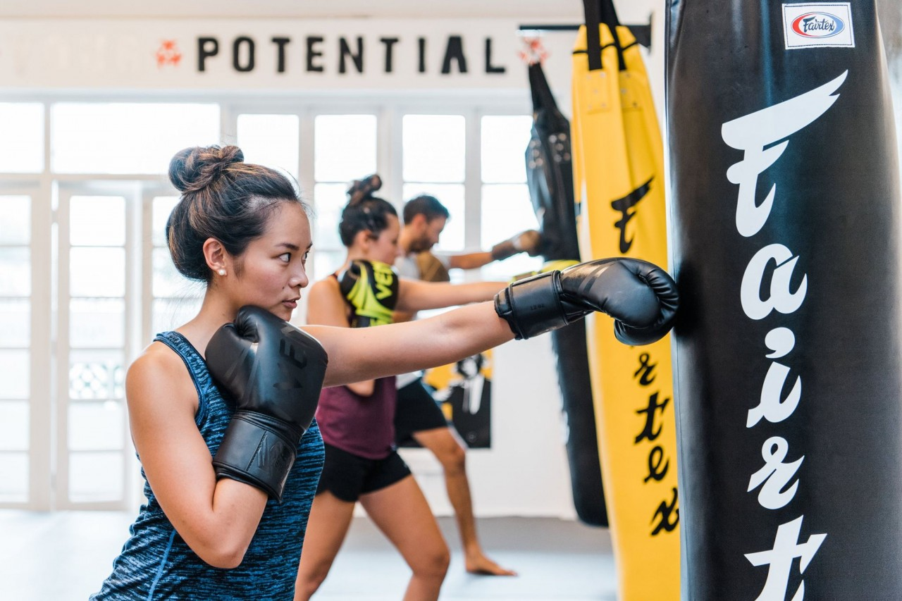 activpass boxing discount fitness class