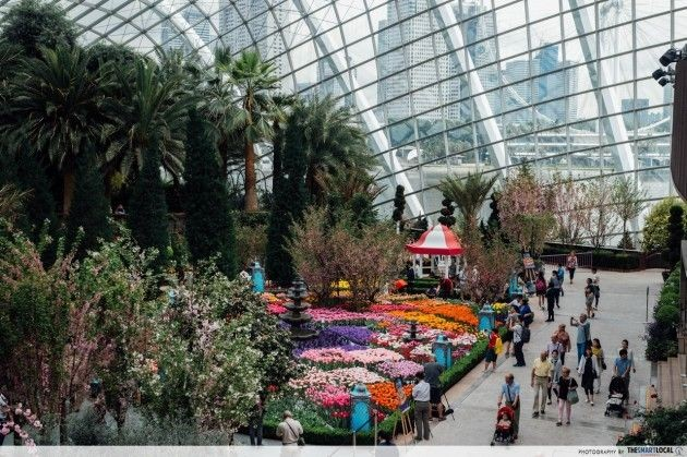 Gardens by the Bay's Flower Dome