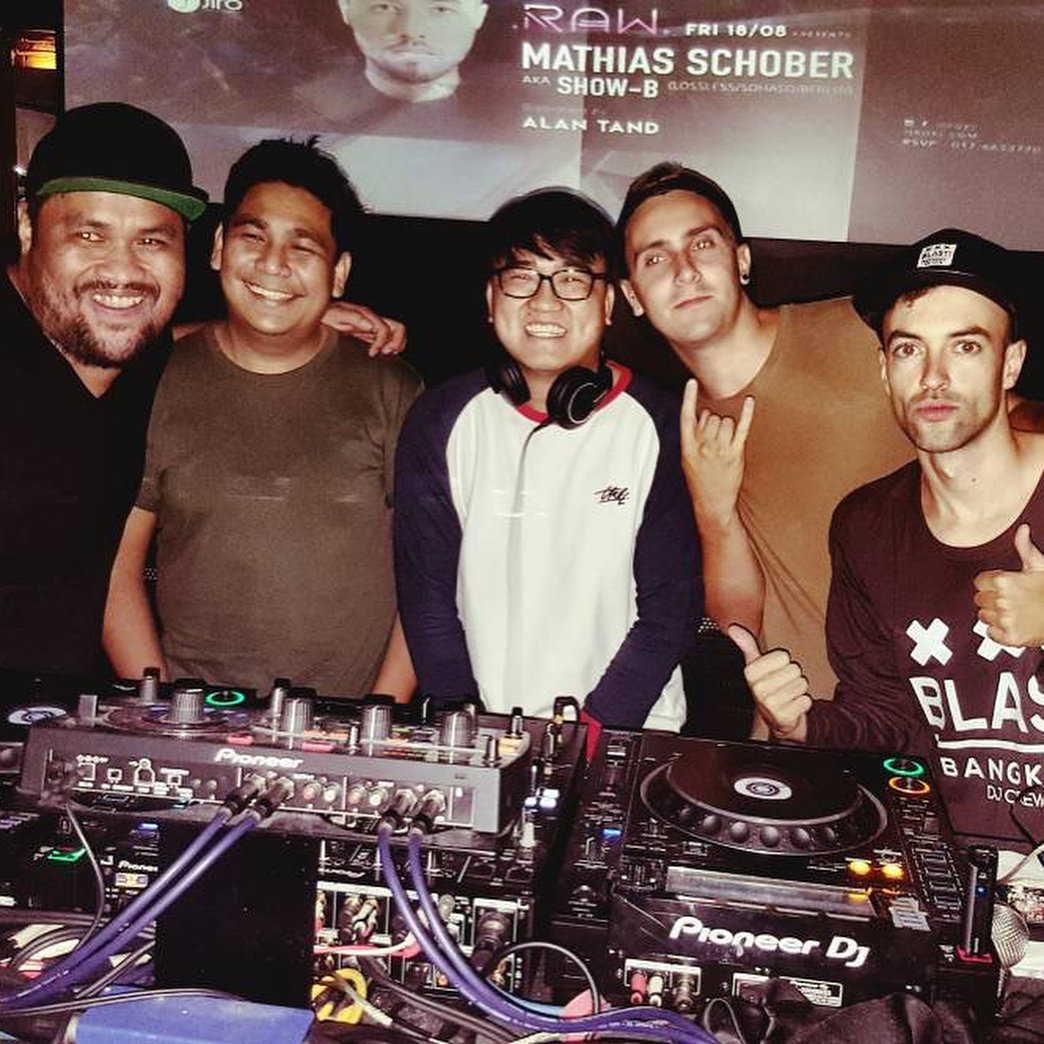 KL nightclubs (8) - Jiro with Mathias Schober and company