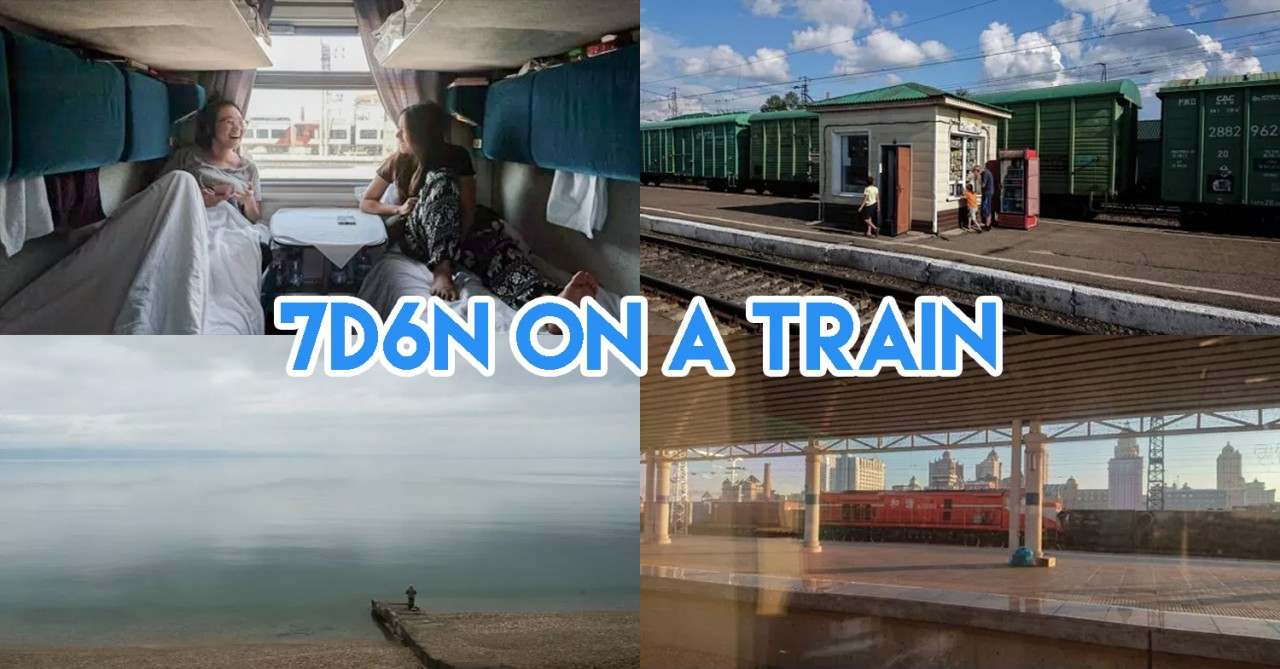 Trans Siberian Railway Guide - Singapore To London By Train In 17