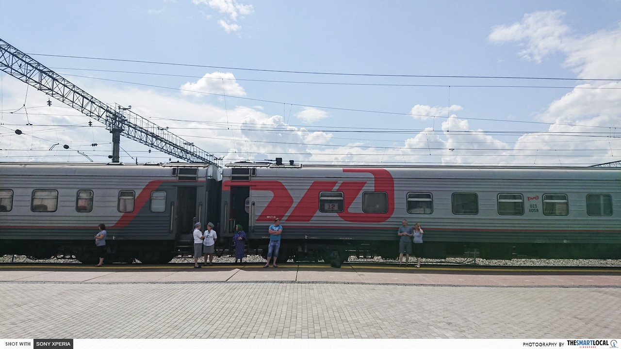 fare on trans siberian rail