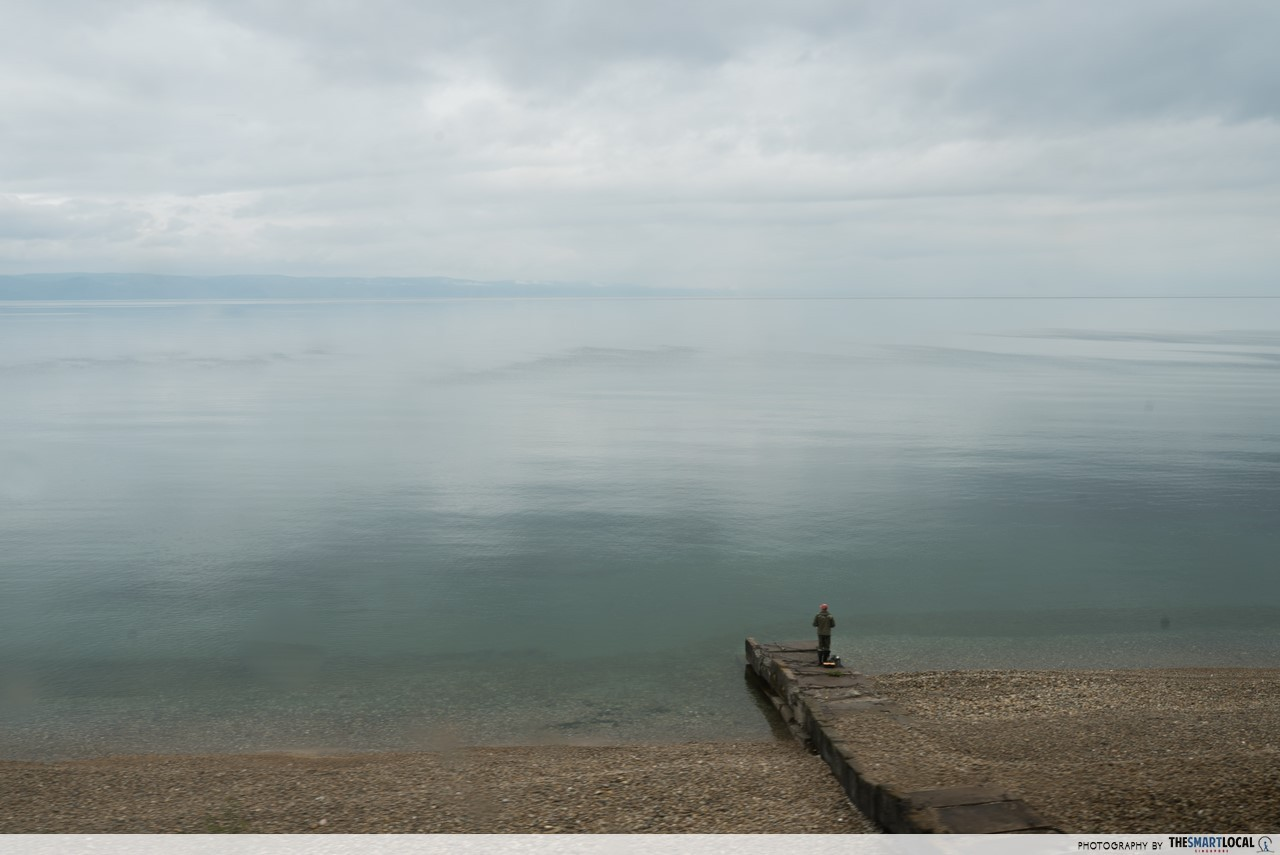 lake baikal the largest clearest deepest lake in the world trans siberian railway