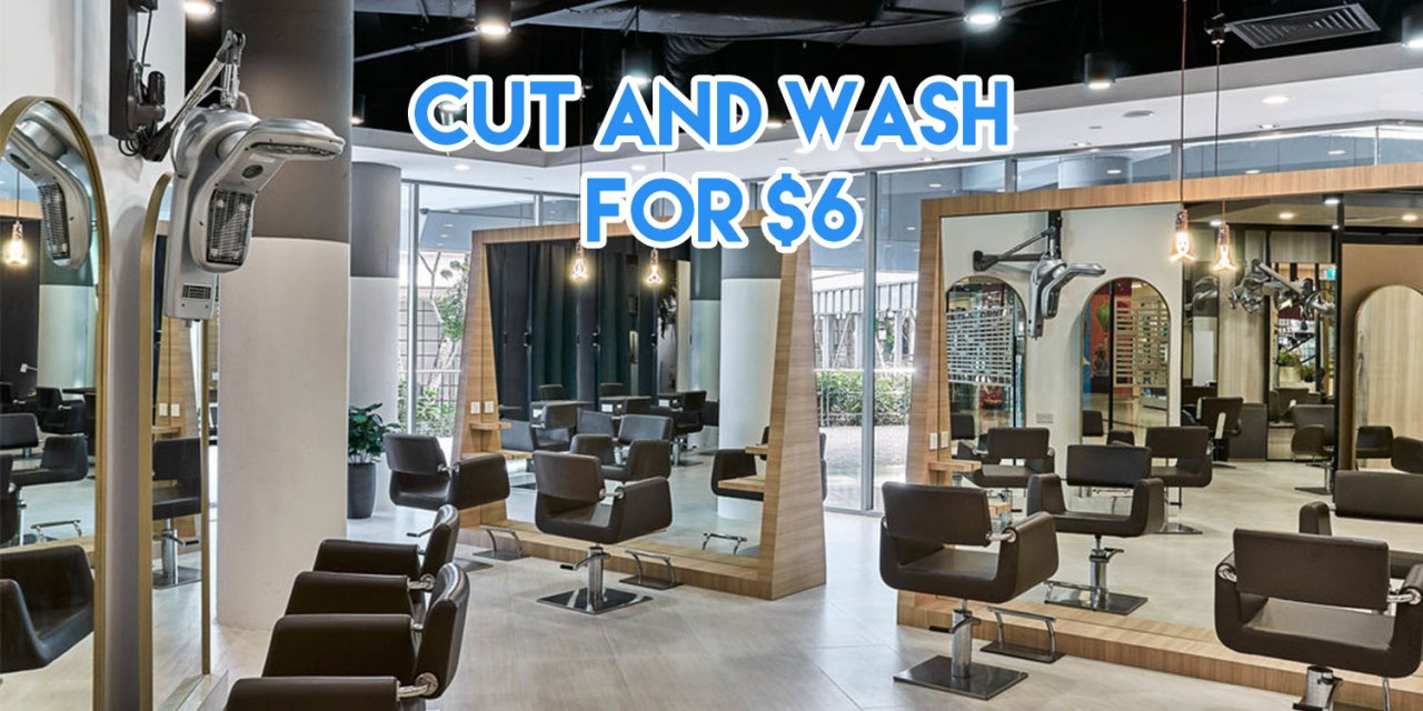 Cheap haircuts singapore - wash and cut