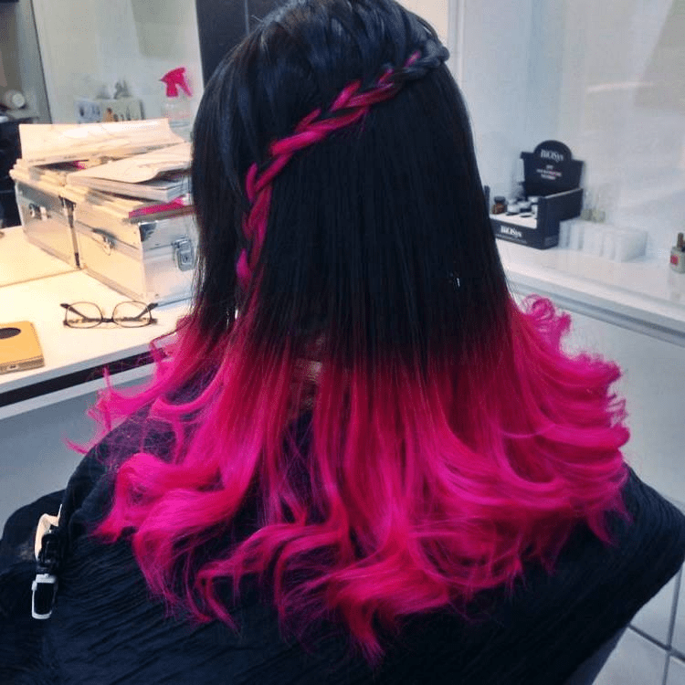 EZEN Hair, Nail and Beauty - Pink dyed hair