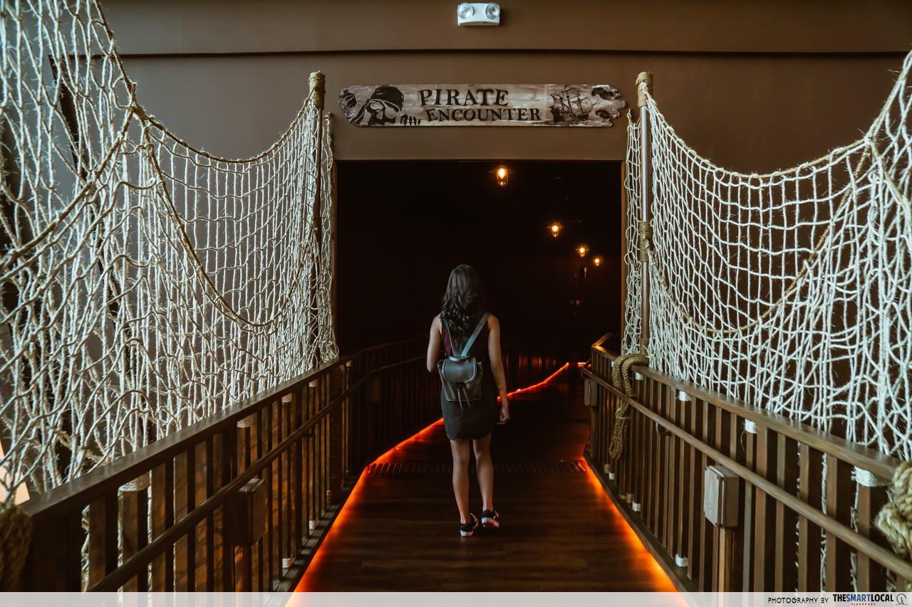 Revamped Maritime Experiential Museum - Pirate Ship bridge