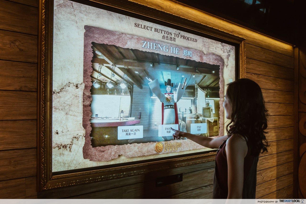 Revamped Maritime Experiential Museum - Virtual Dressing Room