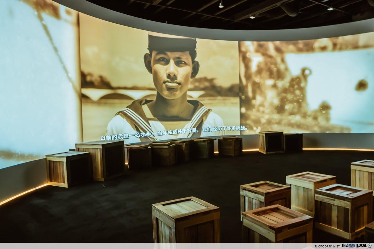Revamped Maritime Experiential Museum - Digital story