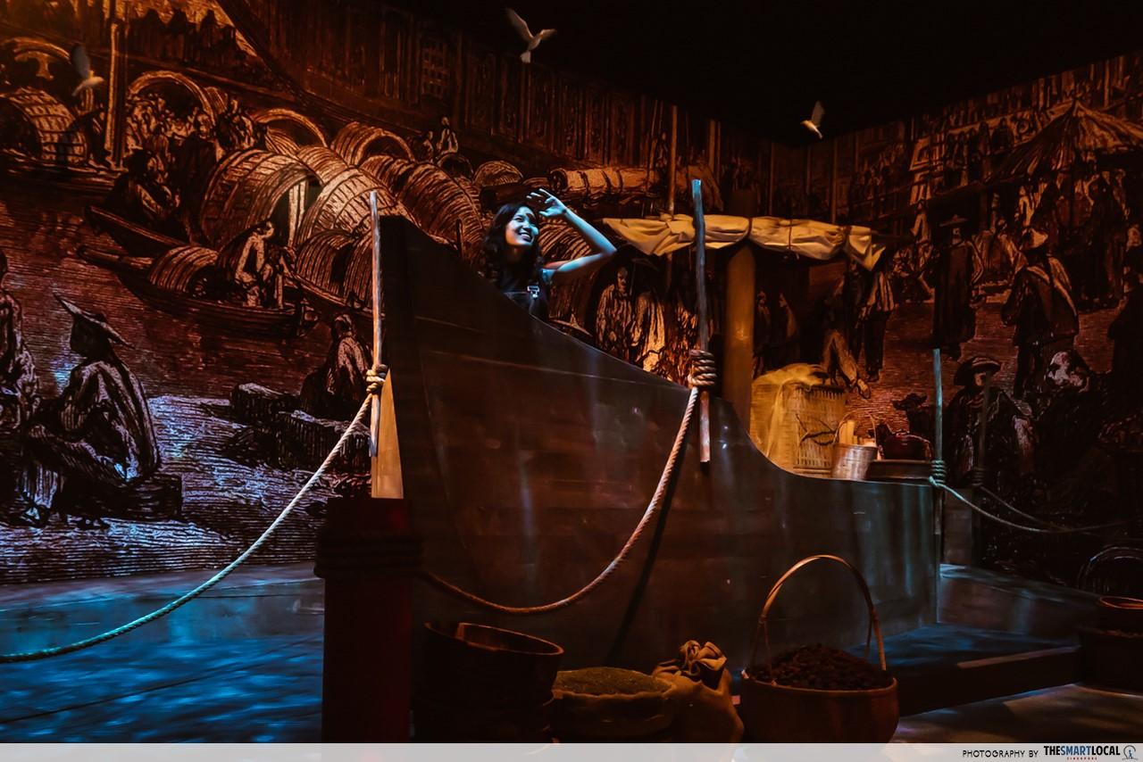 Revamped Maritime Experiential Museum - 14th Century exhibit