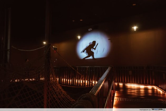 Revamped Maritime Experiential Museum - Pirate Ship projections