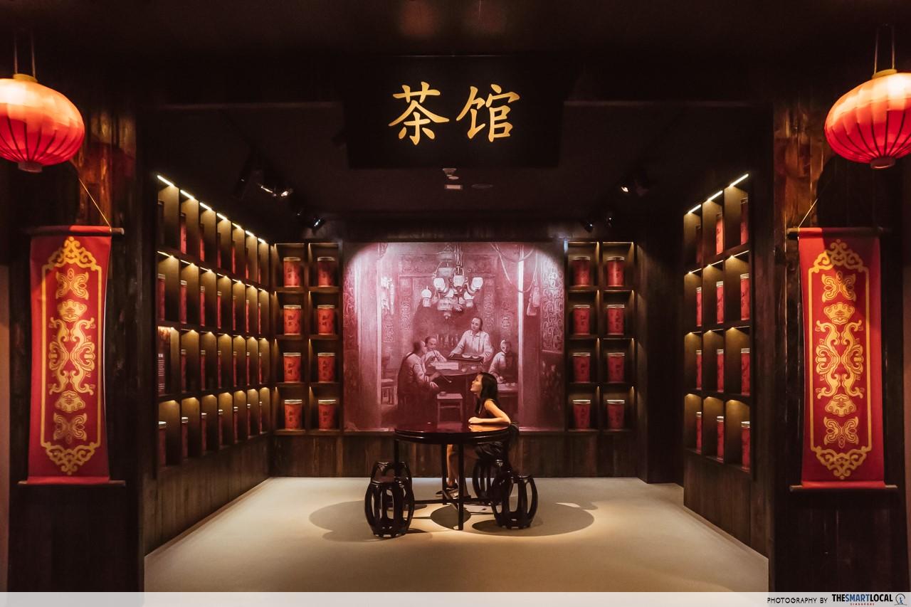 Revamped Maritime Experiential Museum - Quanzhou teahouse