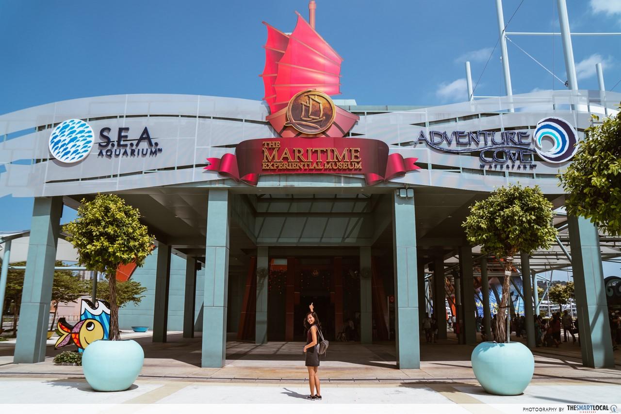 Revamped Maritime Experiential Museum -  exterior