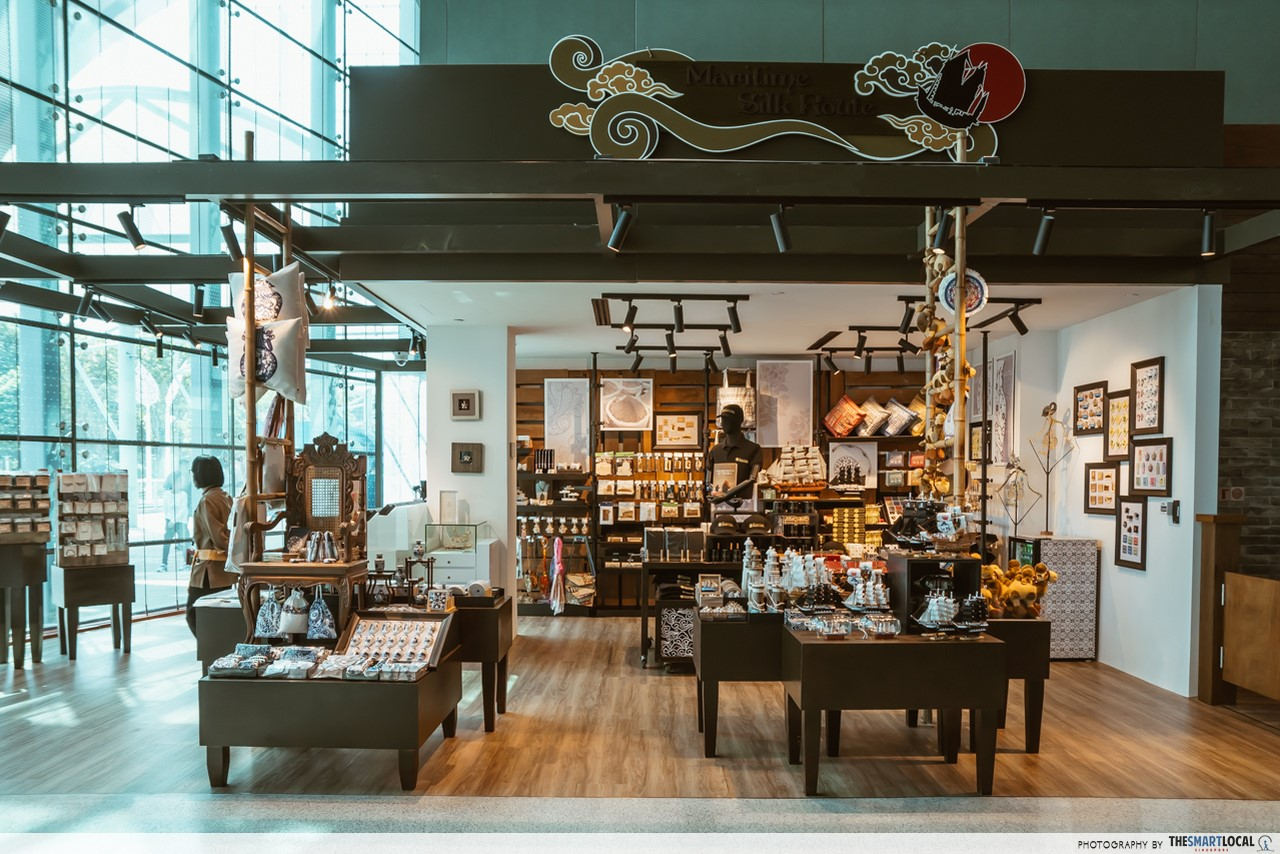 Revamped Maritime Experiential Museum - gift shop